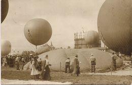 Aviation - Gordon-Bennett - Zürich 1909 - Globos