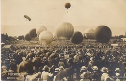 Aviation - Gordon-Bennett - Genève 1922 - Globos