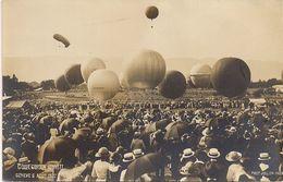 Aviation - Gordon-Bennett - Genève 1922 - Montgolfières