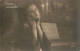 VISIONS MUSICALES - FORMATO PICCOLO - (rif. O28) - Donne