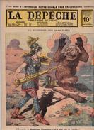 Caricature Satirique Von Hindenburg Anti-Kaïser Guillaume II Allemagne Ferdinand 1er Roumanie  (2 Scans) - Revues & Journaux