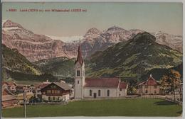Lenk Mit Wildstrubel Und Kirche - Photoglob - BE Berne
