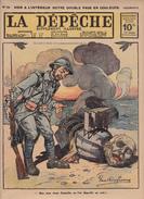 Caricature Satirique Baron Zeppelin Von Bissing Russes Contre Turcs Grand-Duc Nicolas Empire Ottoman Erzeroum (3 Scans) - Français