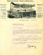 Abattoir Industriel De Porcs Jean CABY, SAINT ANDRE Lez LILLE, Rue De La Gare, 1941 - Agriculture