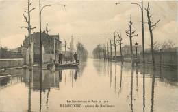 BILLANCOURT INONDATIONS DE 1910 AVENUE DES MOULINEAUX - Boulogne Billancourt