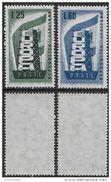 Italia Italy 1956 Europa Sa N.803-804 Completa Nuova Integra MNH ** - 1946-60: Nuovi