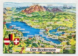 MAP - AK 311006 Germany - Der Bodensee - Landkarten