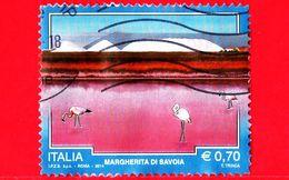 ITALIA - Usato - 2014 - Turismo - 0,70 - Margherita Di Savoia (Barletta-Andria-Trani) - 6. 1946-.. Republik