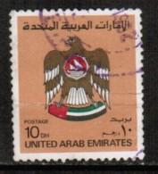UNITED ARAB EMIRATES  Scott # 155  USED CREASE - United Arab Emirates