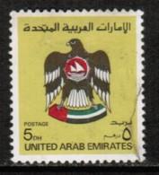 UNITED ARAB EMIRATES  Scott # 154 VF USED - Verenigde Arabische Emiraten