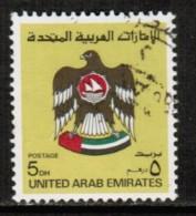 UNITED ARAB EMIRATES  Scott # 154 VF USED - United Arab Emirates