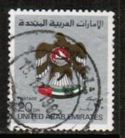 UNITED ARAB EMIRATES  Scott # 156 VF USED - United Arab Emirates