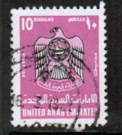 UNITED ARAB EMIRATES  Scott # 104 VF USED - Verenigde Arabische Emiraten