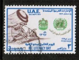 UNITED ARAB EMIRATES  Scott # 106 VF USED - United Arab Emirates