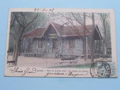 LYON Parc De La Tête D'Or - Le Chalet Des Fôrets ( 444 - B F ) Anno 1905 ( Zie Foto Details ) ! - Auvergne