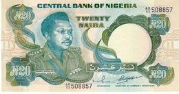Nigeria P.26g 20 Naira 2000  Unc - Nigeria