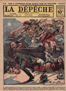 Caricature Satirique Anti-Kaïser Guillaume II Maréchal Haeseler Retraite De Serbie Soldats Du Roi Pierre (3 Scans) - Revues & Journaux