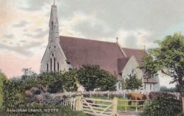 Postcard Aslockton Church Notts Btwn Nottingham And Grantham Clumber Series My Ref  B11768 - Other