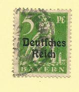 Bayern - Germany - 1920 5pf Yellow Green - Sc#256 - GU - S.249 - Bayern (Baviera)