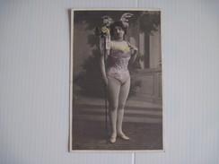 CPA Jeune FEMME ARTISTE SALAZA  1908  T.B.E. () - Artistes