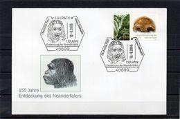 Deutschland, 2006, Brief Mit Michel 2553, Sonderstempel, 150 Jahre - Entdeckung Des Neandertalers - [7] Federal Republic