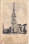 ORLEANS - EGLISE ST. MARCEAU (FUTURE JEANNE D'ARC) - B/N -VIAGGIATA 1902 - SIENA ITALIA - Orleans