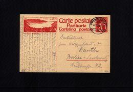 Switzerland 1924 Interesting Postcard - Interi Postali