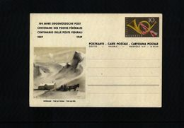 Switzerland 1949 Interesting Postcard - Interi Postali