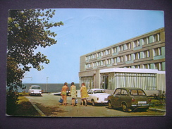 Romania: EFORIE SUD - Hotel Excelsior - Old Car Fiat 850 - Posted 1979 - Roumanie