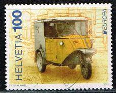 Schweiz 2013, Michel# 2292 O     Europa (C.E.P.T.) 2013 - Postal Vehicles - Gebraucht