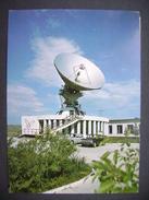 Mongolia: ULAANBAATAR - Station Of Satellite Communication - 1970s Used, Stamp Cat Blue-cream Persian - Mongolia