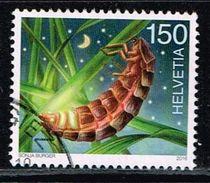 Schweiz 2016, Michel# 2448 O Common Glow-worm (Lampyris Noctiluca) - Gebraucht