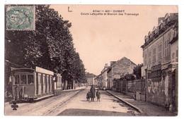 0162 - Allier - Cusset - Cours La Fayette Et Station Des Tramways - N°401. - Vichy