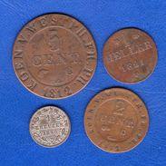 All  4  Pieces - [ 1] …-1871 : Stati Tedeschi