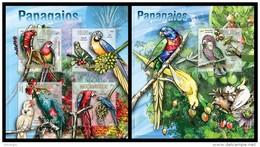 MOZAMBIQUE 2013 - Parrots - YT 5625-8 + BF732; CV = 36 € - Perroquets & Tropicaux