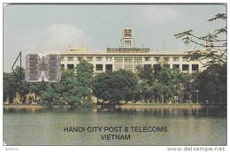 VIETNAM(chip) - Hanoi City Post & Telecoms(40000D), Used - Vietnam