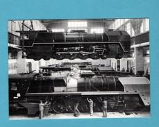 44 Loire Atlantique Nantes Usine Des Batignolles Atelier De Construction De Locomotives à Saint Joseph De Porterie - Gares - Avec Trains