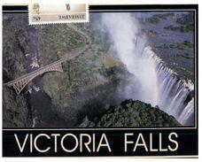 (PH 103) Zimbabwe - Victoria Fall (with Stamp) - Zimbabwe
