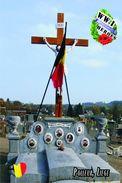 Carte Postale, Militaria, Monuments, World War I Monuments, Belgium (Liège), Polleur 2 - Monuments Aux Morts