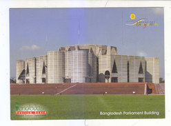 BEAUTIFUL  BANGLADESH PARLIAMENT BUILDING.DHAKA. - Bangladesh