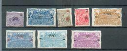 GUYA 383 - YT 97-98-100-101-102-103-104-105 * - Guyane Française (1886-1949)