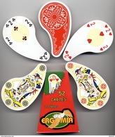 Jeu De 54 Cartes ERGOMIA Carte à Jouer Cartes à Jouer (523) - 54 Cartes
