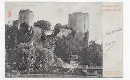 (RECTO / VERSO) ECHIRE - LE CHATEAU SALBART EN 1904 - BEAU CACHET - CPA VOYAGEE - France