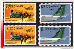 Katanga 0075/78** Air Katanga MNH - Katanga