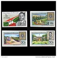 Burundi 0252/55** ND -  Republique  MNH - Burundi