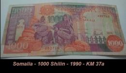 Somalia - 1000 Shilin - 1990 - KM 37a - Somalia