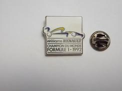 Auto F1 , Williams Renault , Champion Du Monde Formule 1 1992  , Signé Sofrec , Argent - F1