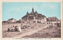 14. RIVA-BELLA. Le Casino Municipal Vu De La Plage. 28 - Riva Bella
