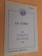 "PUBLICITE ANNEES 60 CHOCOLAT CEMOI PORTEFEUILLE ""CHEQUE CHIC"" 10 GRANDES IMAGES : LA CORSE Pays Ami ? - Advertising"