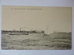 ROCHE MAURICE - Vue Générale Des Quais  N°1886 - France